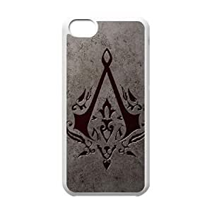 Assassin's Creed iPhone 5c Cell Phone Case-White NRI5112382
