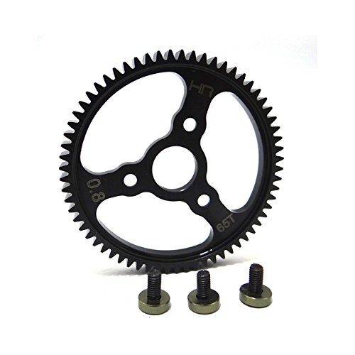- Hot Racing SERVO265 Steel Spur Gear (65T 0.8 Mod)(Gunmetal) - Traxxas