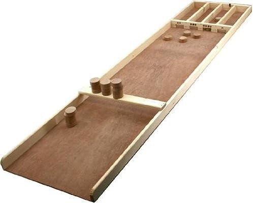Junior Dutch Shuffleboard 120cm natural wood - Sjoelbak by Jesters ...