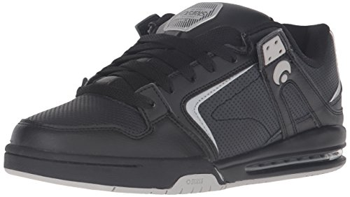 Zapatos Osiris PXL Negro-Light Gris Negro