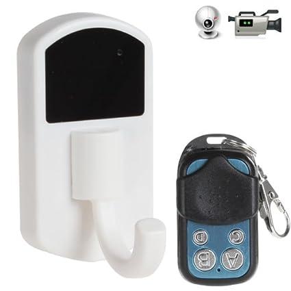 Colgador de ropa con camara espia oculta DVR HD con mando a distancia 4Gb Micro SD