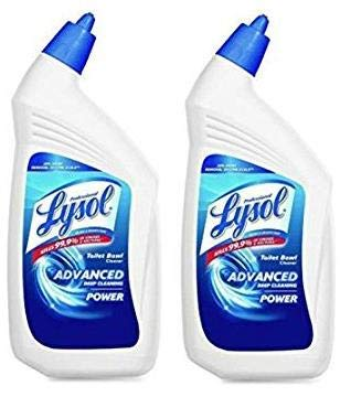 Lysol Professional Disinfectant Toilet Bowl Cleaner with Advanced Deep Cleaning Power, 32 Oz (2 Pack) by Lysol