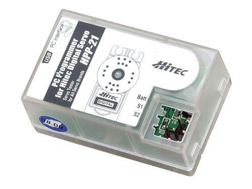 HPP-21 PC Digital Servo Programmer by Hitec RCD