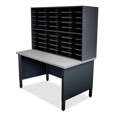 Mailroom 40 Slot Organizer Finish: Black