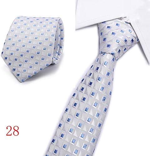 ZHENZHIA - Corbata de Seda para Hombre, diseño de Lunares, Color ...