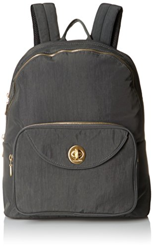 - Baggallini Brussels Laptop Chrcl Backpack, Charcoal, One Size