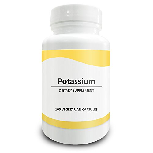 Pure Science Potassium Gluconate 595mg - Potassium Supplement Regulates Blood Pressure, Supports Bone & Muscle Maintenance - 100 Vegetarian Potassium Gluconate Capsules (Calcium Chloride Water Softener compare prices)