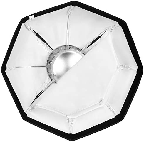 Neewer Photo Studio 24 inches/60 centimeters Beauty Dish and Octagonal Softbox Combination with Bowens Speedring for Bowens,Perfect for Portrait,Product Photography and Video Shooting