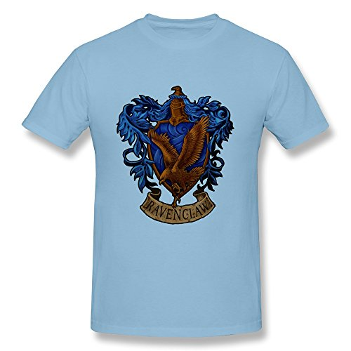 [AOLiLiPO Harry Potter Ravenclaw LOGO O-Neck T-shirt For Men] (Rowena Ravenclaw Costume)