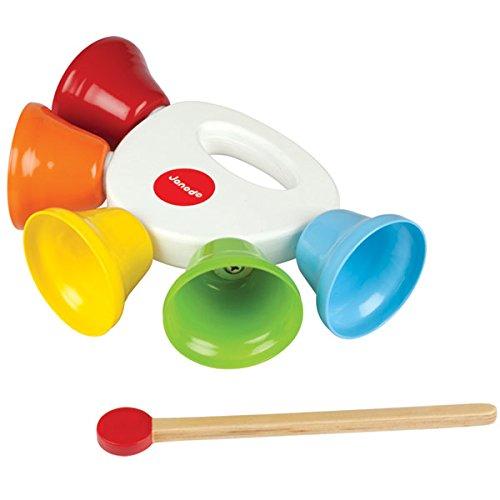 Janod - J07612 - Instrument de Musique - Clochettes Confetti by Janod