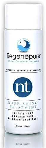 Regenepure NT Hair Regrowth Shampoo For Hair Thickening and Hair Loss Recovery In Men and Women 8-ounce
