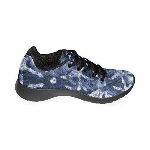 Interestprint Mujeres Jogging Running Sneaker Ligero Go Easy Walking Comfort Deportes Zapatos Deportivos Motivos Florales Fondo