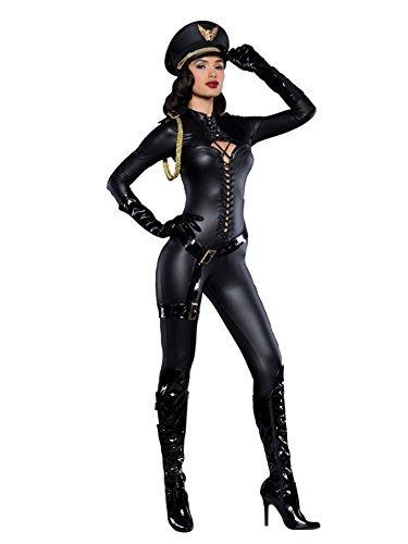 Incharacter Costumes Women's Major Lovin', Black, Medium