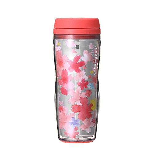 Starbucks Sakura 2018 Cherry Blossoms Mirror layered bottle 12 oz Japan by Starbucks