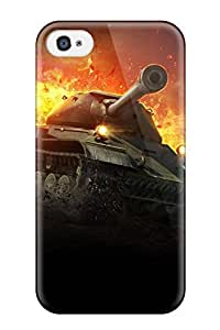High-end Case Cover Protector For Iphone 4/4s(heavy Tank Is 4 World Of Tanks)
