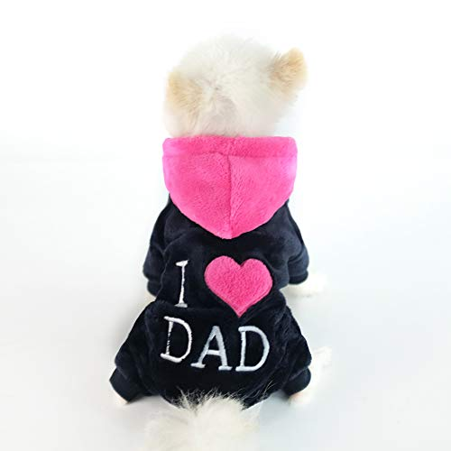 Outfits For Large Dogs (InnoPet Dog Clothes,Hoodie Coat for Small Dogs and Cats,pet Warm Apparel,Cute Dog Outfits,pet Winter)