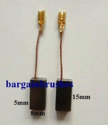 CARBON BRUSHES fits QUALCAST ELECTRIC HEDGE TRIMMER argos 600W GHT GHT600A1 D74 BARGAINWORLDUK