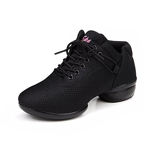 Sneakers SU021 Jazz Salsa Shoes Hop Dance Breath Shoes SUKUTU Soft Outsole Women's Hip 0Rq7x