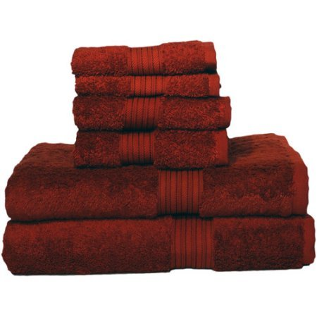 (Egyptian Majestic Oversized Heavy Weight Egyptian Cotton 6piece Towel Set)