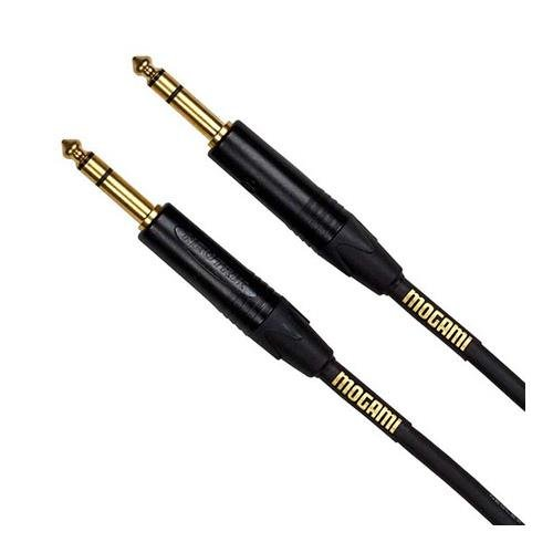 【並行輸入品】Mogami Gold Series Balanced Patch Cable (1/4 Inch TRS to TRS 50 Foot)   B008ZTAMT2