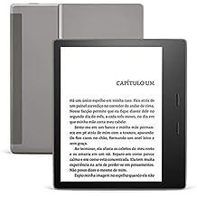 Novo Kindle Oasis 8Gb - Agora com temperatura de luz ajustável - Cor Grafite