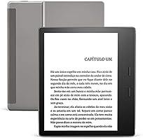 Kindle Oasis 8Gb - Agora com temperatura de luz ajustável - Cor Grafite