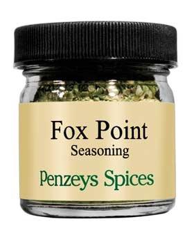 Fox Point Seasoning By Penzeys Spices .6 oz 1/4 cup jar