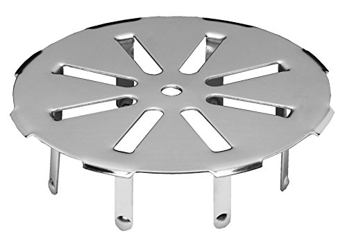 - Oatey 42731 Snap-In Drain Strainer, 3 In, 304 Stainless Steel, Galvanized 3-Inch