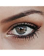 Elizzm Light Gray (Grijs) - Natuurlijk ogende en subtiel gekleurde lenzen zonder sterkte - Kleurlenzen voor een gebruik van 3 maanden