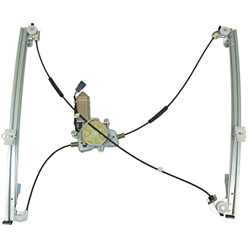 ACDelco 11A99 Professional Front Driver Side Power Window Regulator with Motor