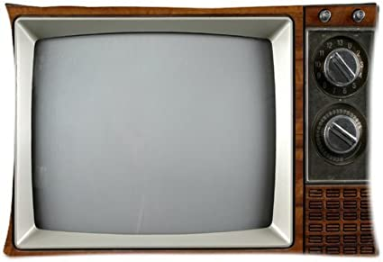Vintage Television,Retro TV, Old TV One Side custom Pillowcase?Fundas para almohada?,pillowcover 20 X 30 Inch: Amazon.es: Hogar