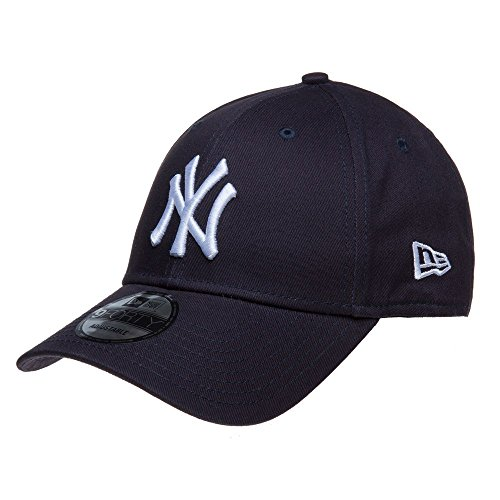 New Era New York Yankees Strapback Cap 9forty Kappe Basecap(Navy,Adjustable)