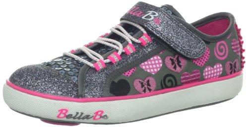 Skechers Kids 82042L BELLA BALLERINA - Curtsies - Sugarspin Sneaker with Spinning Disc (Little (Skechers Kids Bella Ballerina)