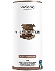 Mat Spring Whey Proteinpulver, choklad, 750 g, högt protein för starkare muskler, från gräsfoder mjölk