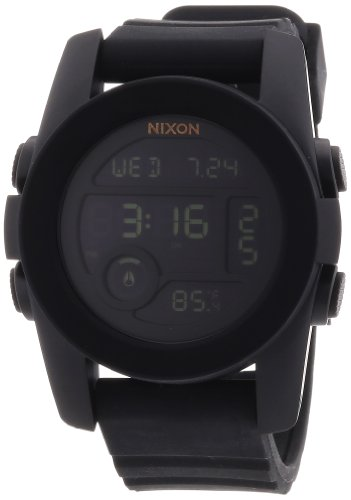nixon unit watch black - 3