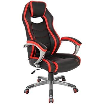 Racing Style Gaming Ergonomic Office Chair High-Back(05165A)  sc 1 st  Amazon.com & Amazon.com : Racing Style Gaming Ergonomic Office Chair High-Back ...