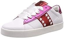 Marco Tozzi 2-2-23708-32, Zapatillas para Mujer, Blanco (White/Pink Met 104), 41 EU