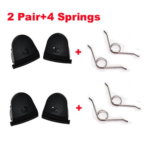 2 Pairs L2 R2 Trigger Springs Replacemnet Parts Buttons For PlayStation 4 PS4 Controller DualShock 4 EveryOne-Buy