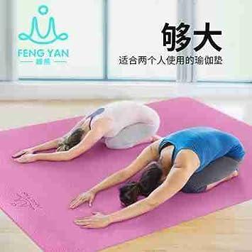 Tapis de yoga double couleur antid/érapant TPE Tapis de fitness de sport en plein air /écologique