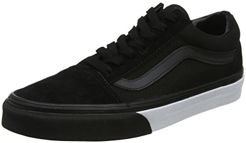 Old Mixte Bumper Vans Skool mono Baskets Noir Adulte 1dqTwqxZ