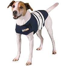 Thundershirt Dog Anxiety Treatment - Navy Blue Rugby (Extra Small)