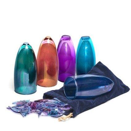 Chuppah Glass for Breaking - Gary Rosenthal Jewish wedding glass Red