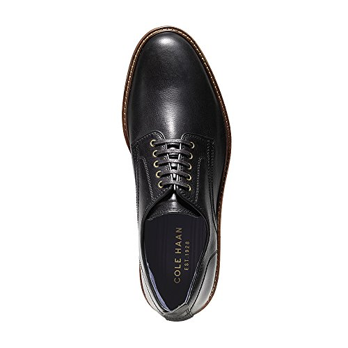 Cole Haan Mens Tyler Grand Plain Oxford Zwart