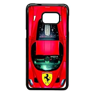 Samsung Galaxy Note 5 Edge Cell Phone Case Black Ferrari Plastic Durable Cover Cases NYTY221386