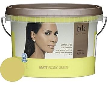 Häufig Barbara Becker Home Passion bunte Wandfarbe 1 L. Exotic Green Matt TL14