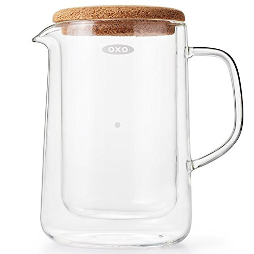- OXO Good Grips Double-Wall Glass Server