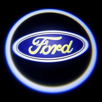 LED Einstiegsleuchte 3D Ford Tur Logo Licht Laser Car