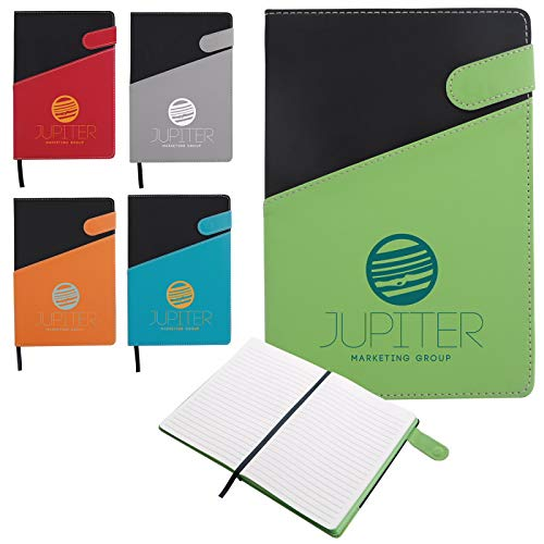 Good Value Colorblock Magnetic Journal Gray 100 Pack