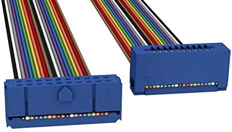 Pack of 10 C3CES-2036M CKC20S//AE20M//CCE20S IDC CABLE