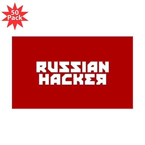 CafePress - Russian Hacker - Sticker (Rectangle 50 pk) by CafePress